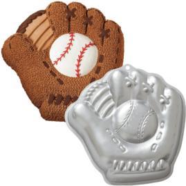 baseball glove cake pan