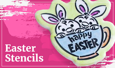Easter Stencils By Cookie Countess