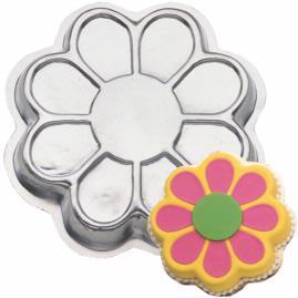 flower power cake pan