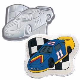 race car cake pan