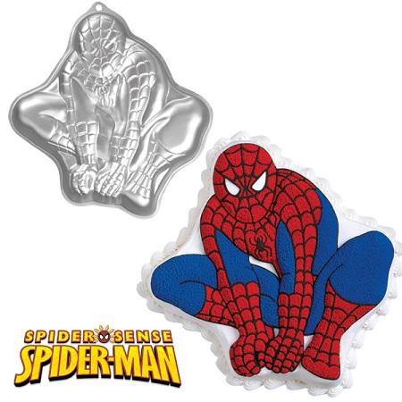 spiderman cake pan