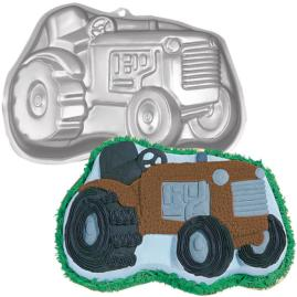 farm tractor cake pan