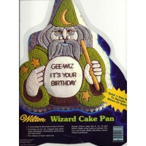 wizard cake pan