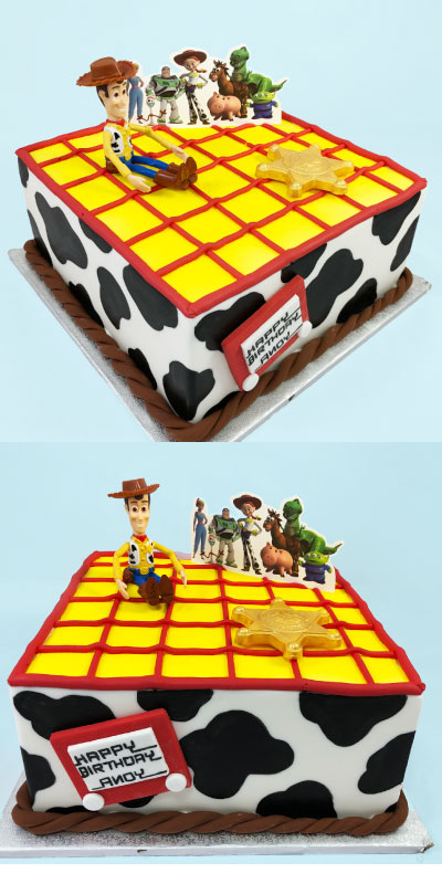 Astounding Toy Story Cake Scoop N Save Personalised Birthday Cards Rectzonderlifede