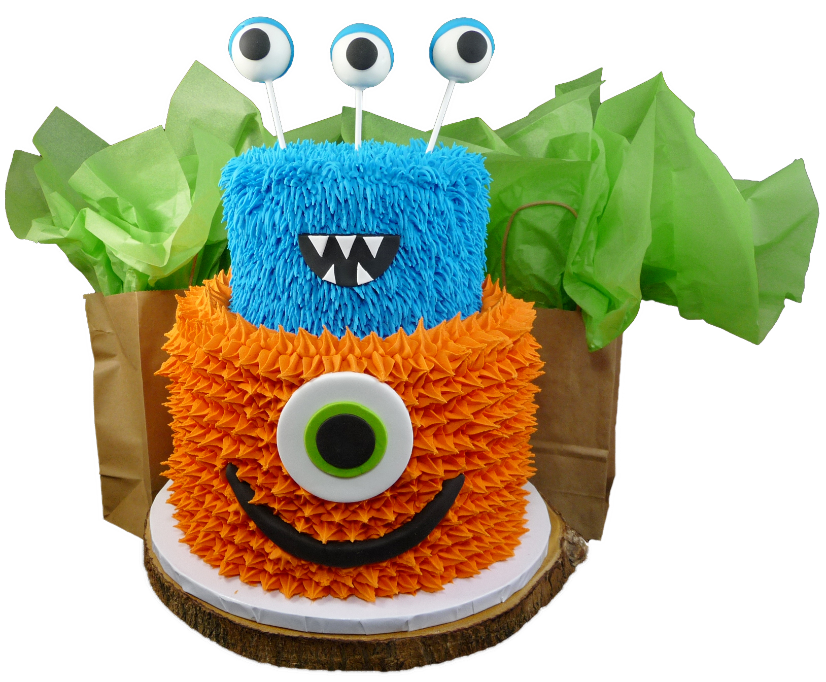 Wondrous Monster Birthday Cake Scoop N Save Personalised Birthday Cards Arneslily Jamesorg